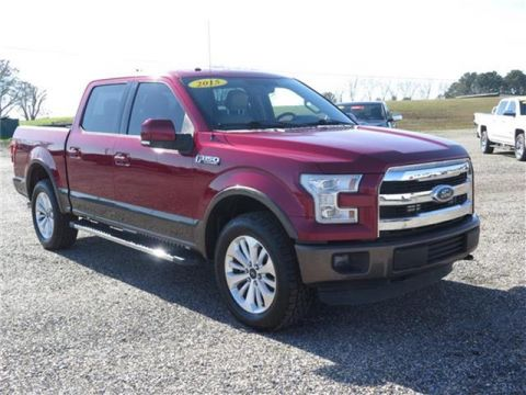 2015 Ford F-150 Lariat 4x4 SuperCrew Cab Styleside 5.5 ft. box 145 in. WB