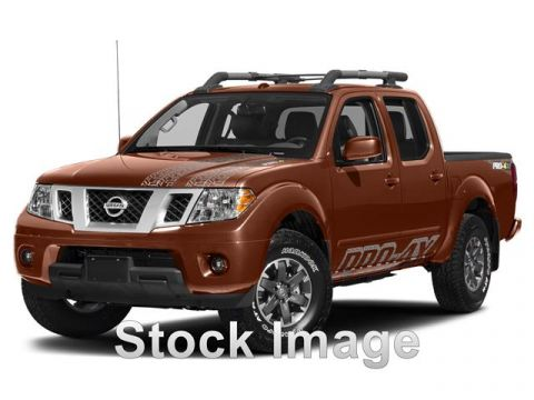 Pre-Owned 2017 Nissan Frontier PRO-4X Four Wheel Drive PRO-4X (A5) 4x4 Crew Cab 4.75 ft. box 125.9 in. WB