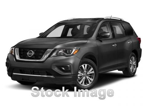 Pre-Owned 2017 Nissan Pathfinder PLATINUM Front Wheel Drive Platinum 4dr Front-wheel Drive